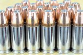 pic of hollow point  - 9mm hollow point bullets as abackgroung pattern - JPG