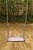 picture of swingset  - close - JPG