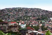 stock photo of overpopulation  - BAGUIO CITY - JPG