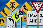 Постер, плакат: Дорожные знаки