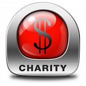 picture of word charity  - charity red icon fund raising raise money to help donate give a generous donation or help with the fundraise gifts - JPG