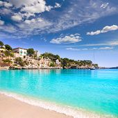 Porto Cristo beach in Manacor Majorca Mallorca Balearic islands
