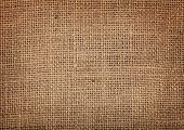 stock photo of sackcloth  - Old burlap texture pattern background - JPG