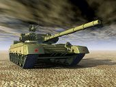 Постер, плакат: Russian Main Battle Tank