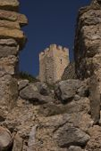 foto of templar  - Castle Templar origin located in Alcal� de Xivert in 