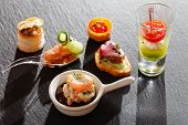 image of canapes  - canape - JPG