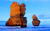pic of apostolic  - gibson steps and the twelve apostoles along great ocean road