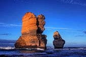 picture of apostolic  - gibson steps and the twelve apostoles along great ocean road