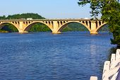 picture of rosslyn  - Early morning in Georgetown Park Washington DC - JPG