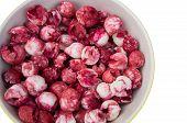 stock photo of tamarind  - manila tamarind fruit red pink sweet taste seed - JPG