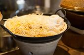 stock photo of rice noodles  - cooking - JPG