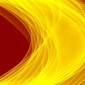 Постер, плакат: Abstract yellow background