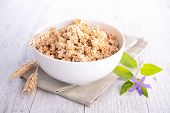 image of cereal bowl  - muesli - JPG