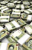 pic of iranian  - Stack of Iranian Rial  - JPG