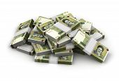 foto of iranian  - Stack of Iranian Rial  - JPG