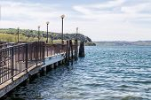 picture of jetties  - Right jetty - JPG
