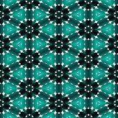 pic of kaleidoscope  - Kaleidoscopic mosaic pattern seamless generated texture or background - JPG