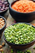 stock photo of chickpea  - bean - JPG