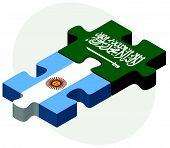 picture of saudi arabia  - Vector Image  - JPG