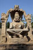 picture of lakshmi  - Statue of Lakshmi Narasimha - JPG
