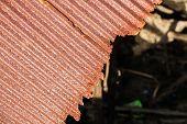 ������, ������: Rusty Old Corrugated Iron