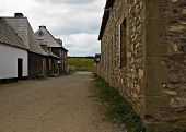 picture of acadian  - fortress de louisbourg in cape breton nova scotia - JPG