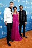 LAS VEGAS - APR 18:  Hillary Scott with Lady Antebellum at the 45th Annual Academy of Country Music