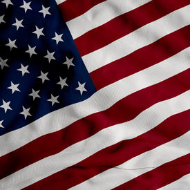 pic of waving american flag  - Close up of the American flag - JPG
