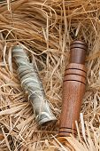 pic of gadwall  - duck and goose decoy with stuffed and some calls - JPG