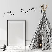 Mock Up Poster, Wall In Children Bedroom Interior Background, Scandinavian Style, 3d Illustration poster