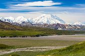 View From Eielson Visitor Center In Denali National Park In Alaska In Denali National Park In Alaska poster