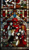 Постер, плакат: Витражи в собор Церкви Святой и неделимой Троицы Эли Кембриджшир Восток A