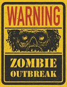 picture of madman  - Poster Zombie Outbreak - JPG