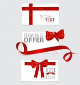 picture of year end sale  - End of year sale savings labels set - JPG