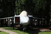 image of yaks  - The old supersonic fighter jet Yakovlev Yak - JPG