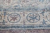 picture of dalyan  - Mosaic in Kaunos Church Dalyan Town Turkey