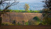 pic of bend  - Bends of hills in Moravia Czech Republic - JPG