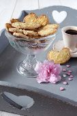 picture of french pastry  - Valentines day - JPG