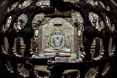 stock photo of jain  - jain buddha statue in jaisalmer rajasthan, india