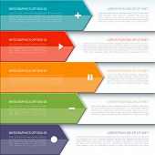 picture of step-up  - Modern colorful minimal arrow infographics elements - JPG