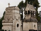 picture of wraith  - Monumental Cemetery in the city of Turin - JPG