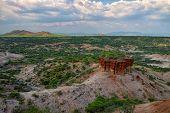 stock photo of habilis  - Olduvai Gorge is a cradle of mankind Tanzania Africa - JPG