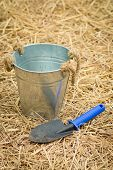 pic of spade  - spoon spade shovel and bucketgardening tools or agriculture tools - JPG