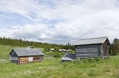picture of pastures  - A shieling - JPG