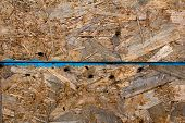 stock photo of rusty-spotted  - Painted in gray rusty metal wall texture - JPG