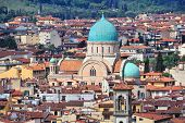 picture of synagogue  - Florence  - JPG