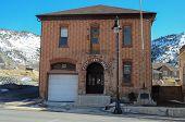 stock photo of city hall  - Historic city hall sheriff - JPG