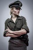 stock photo of officer  - Reenacting - JPG