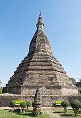 Постер, плакат: Black Stupa Vientiane Laos