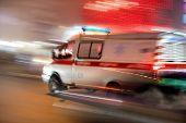 Постер, плакат: Ambulance In Motion